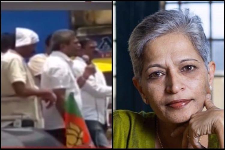 If Gauri Lankesh had not written against RSS would she be alive asks Karnataka BJP MLA