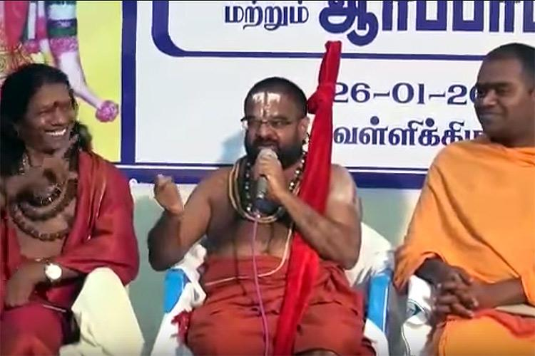 Angry reactions hilarious memes after jeeyars soda bottle threat against Vairamuthu