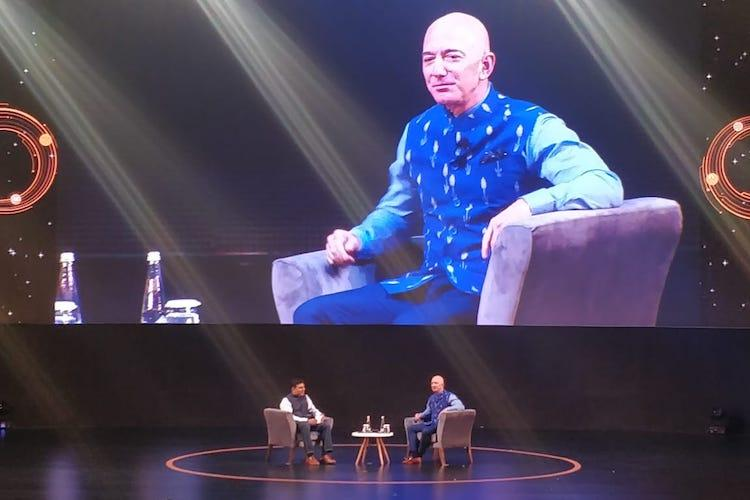 Amazon CEO Jeff Bezos commits 1 billion in India to bring over 10 million SMBs online