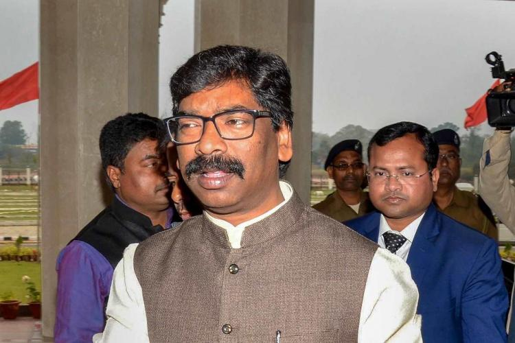 Jharkhant Chief Minister Hemant Soren at budget session