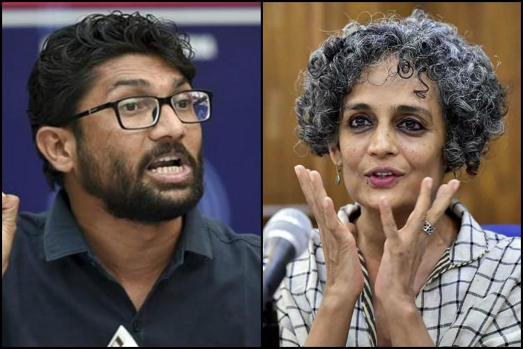 Arundhati Roy supports Jignesh Mevani contributes Rs 3 lakh for his Gujarat campaign