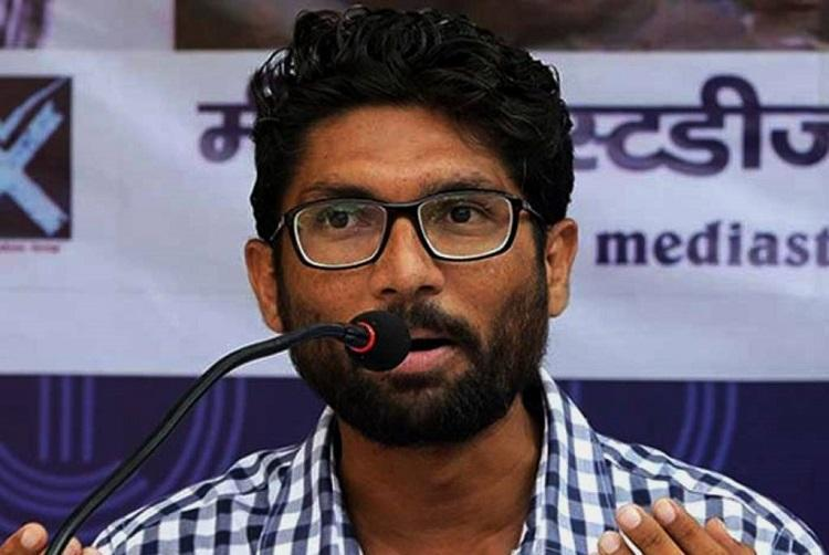 Disrupt PM event throw chairs in air EC files FIR against Jignesh Mevani for comment