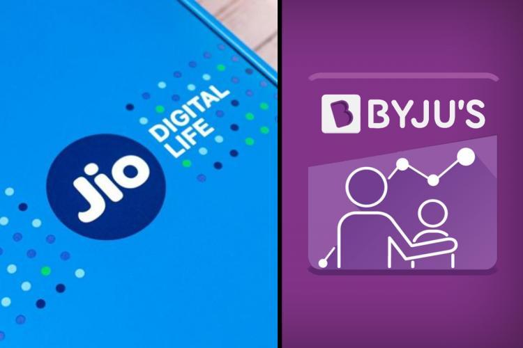 Jio Platforms Byjus