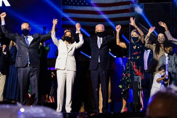 Joe Biden and Kamala Harris win the US elections 2020