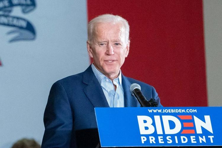 Joe Biden says they are on track to win elections