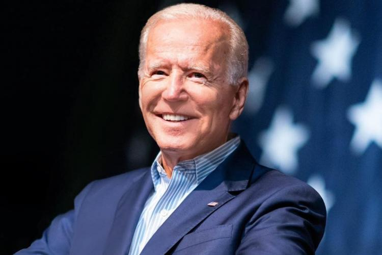 File photo of president elect Joe Biden during his election campaign