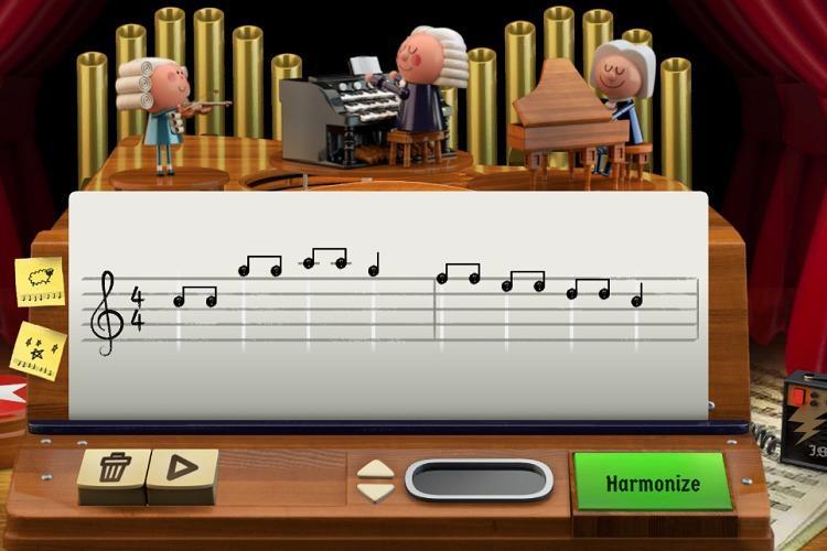 Google honours German musician Johann Sebastian Bach with