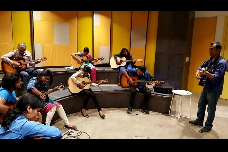 One note at a time How a lawyer turned musician is helping Bengalurus corporate workers de-stress