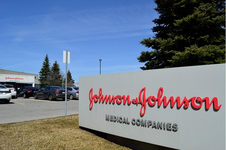 Johnson and Johnson company logo