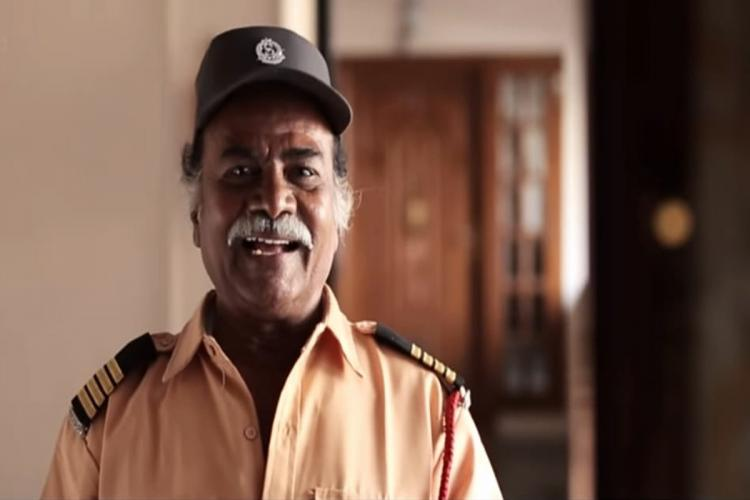Joker Thulasi seen as a watchman in a YouTube video posted by Madras Meter