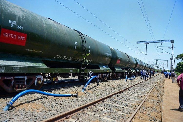 Last water train from Jolarpettai to arrive in Chennai as services wind up