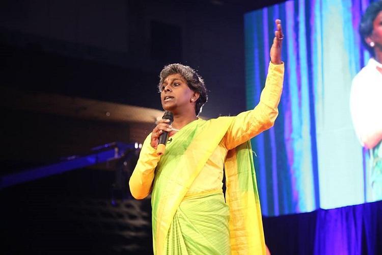 Karnataka transgender activist Akkai Padmashali to attend Town Hall with Obama