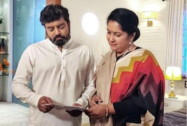 Still from Kannada serial Jothe Jotheyali