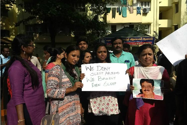 TN media fraternity protests against S Ve Shekhers sexist comments on women journos