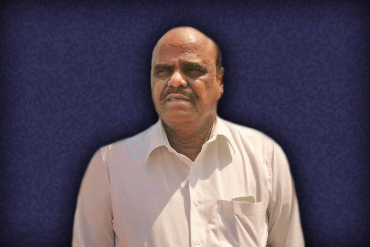 Justice Karnan stylised picture