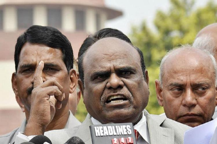 On the run for over a month Justice Karnan arrested in Coimbatore