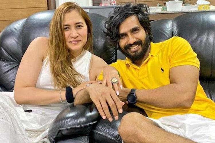 Vishnu Vishal and Jwala Gutta