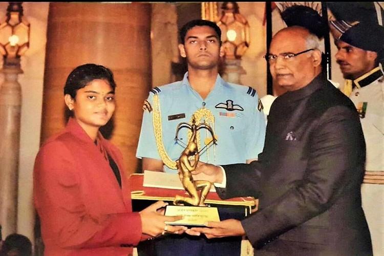 Arjuna awardee Surekha threatens hunger strike seeking full cash prize from AP govt