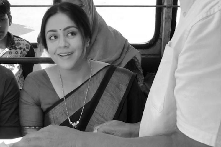 First glimpse of Jyothika from Chekka Chivantha Vaanam