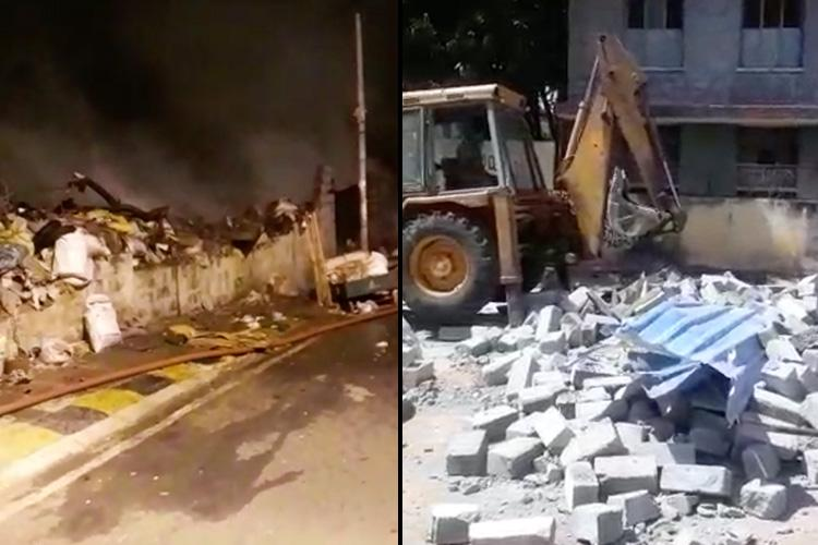 Corporator demolished house sent goons to set me on fire Bengaluru woman alleges