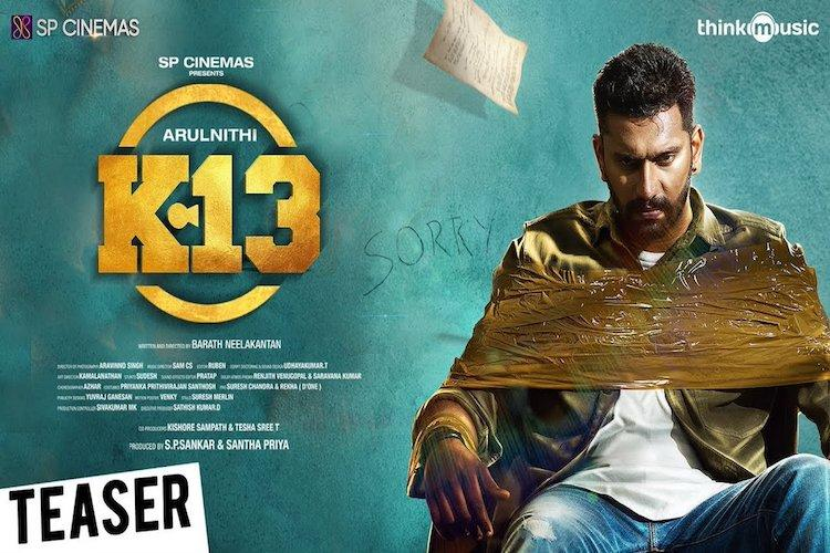 Watch Arulnithi and Shraddhas K13 trailer looks exciting