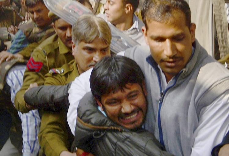 Kanhaiya Kumar moved to Tihar doctors find minor abrasions on his face legs