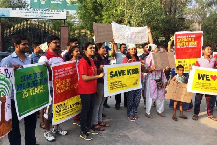 On World Environment Day Hyd activists vow to continue fight to save KBR park