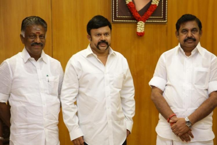 After being sacked a year ago KC Palanisamy re-inducted in AIADMK