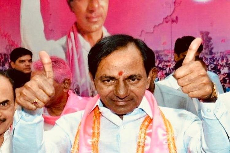 TRS chief K Chandrasekhar Rao takes oath as CM of Telangana for second term