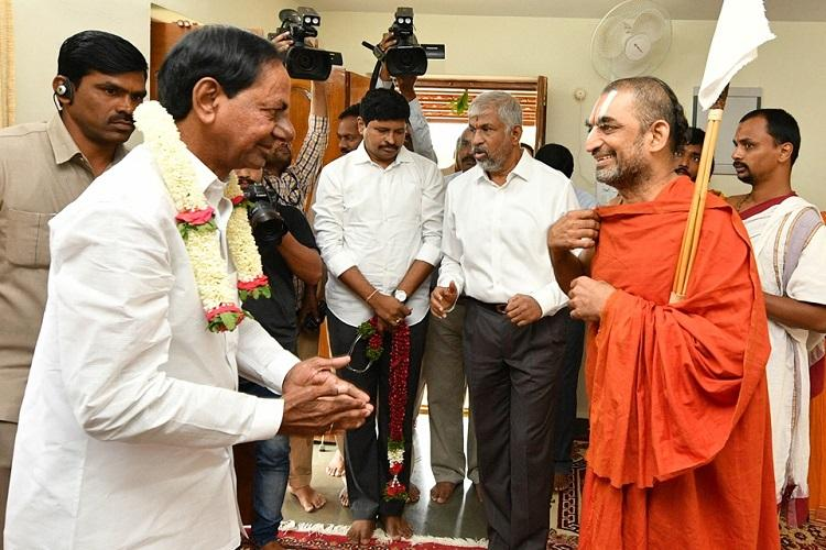 Telangana CM KCR to perform another massive yagam this time in Yadadri