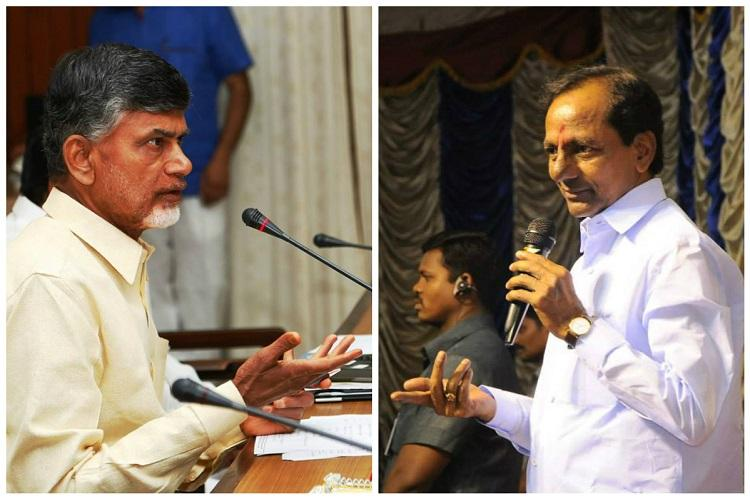 Telugu X factor in Karnataka Why KCR Naidu are interested in elections next door
