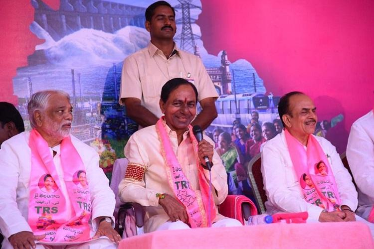 K Chandrasekhar Rao held a brainstorming session with the first batch of 105 party candidates