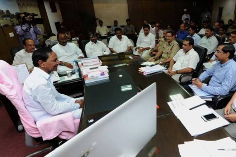 Following public demand Telangana forms panel for creating four new districts