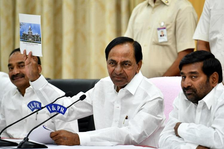 Bison Polo Ground to stay Telangana to construct new Secretariat at existing premises
