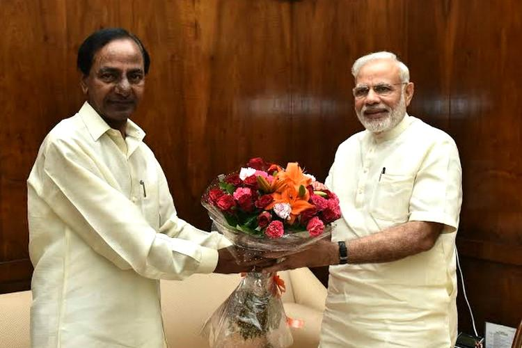 KCR writes to PM Modi urging him to take up NRI killings with the US govt
