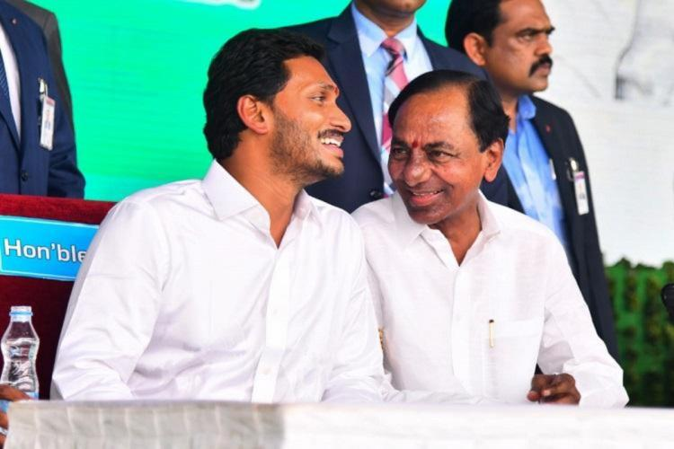 KCR on sticky wicket in tussle with Jaganmohan Reddy over Krishna water