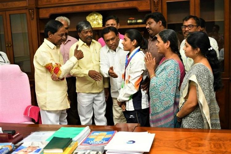 Telangana announces Rs 2 cr for Aruna Reddy who won bronze in Gymnastics World Cup