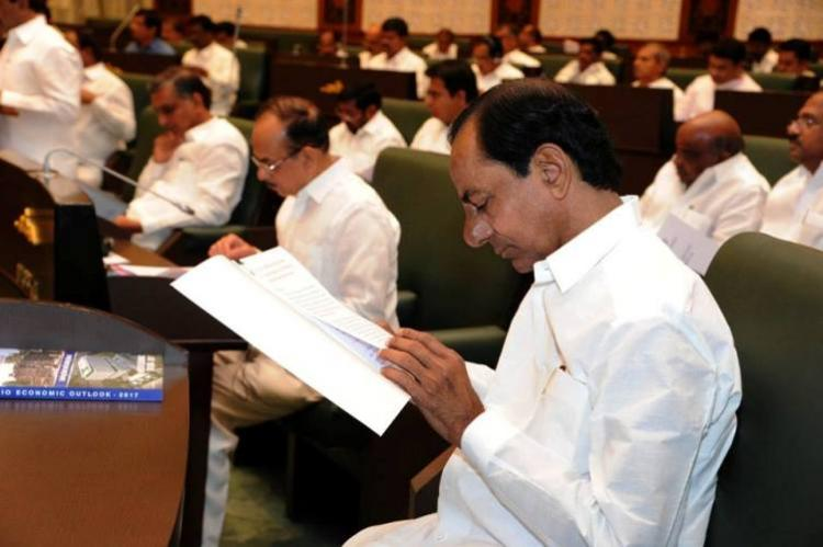 Caste-based allocations KCR Kits for newborns mark Telangana Budget