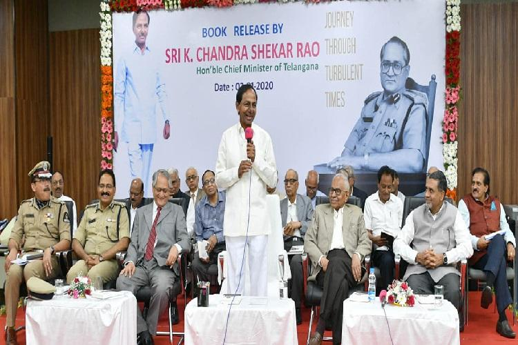 KCR plans to rope in spiritual gurus retired cops to advise him on Telanganas education system
