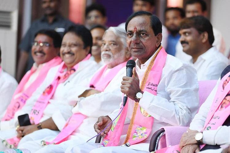 KCR holds review meet with MPs MLAs after poor show in Lok Sabha elections