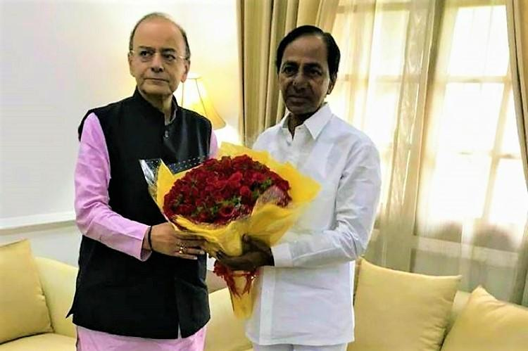 Telangana CM KCR flies to Delhi bags Bison Polo Ground in Hyd for new Secretariat