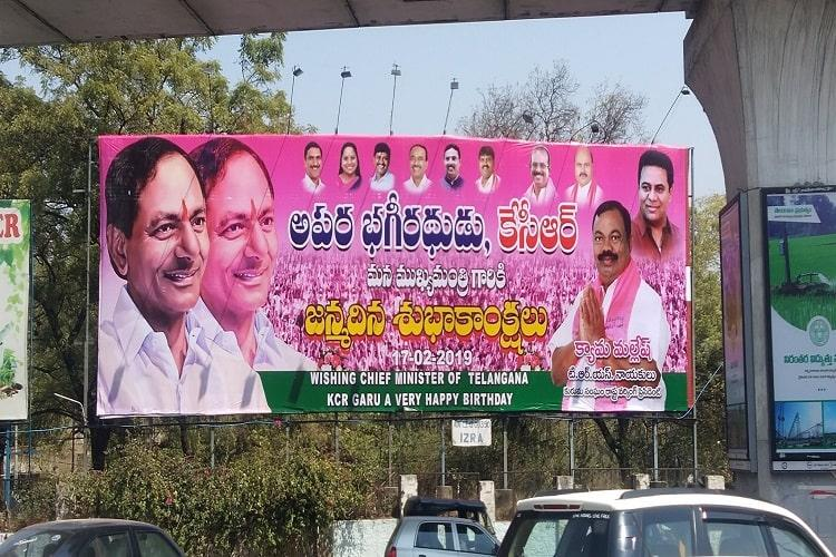 Hyd mayor fines Cong MLA for illegal hoarding gets called out for bias