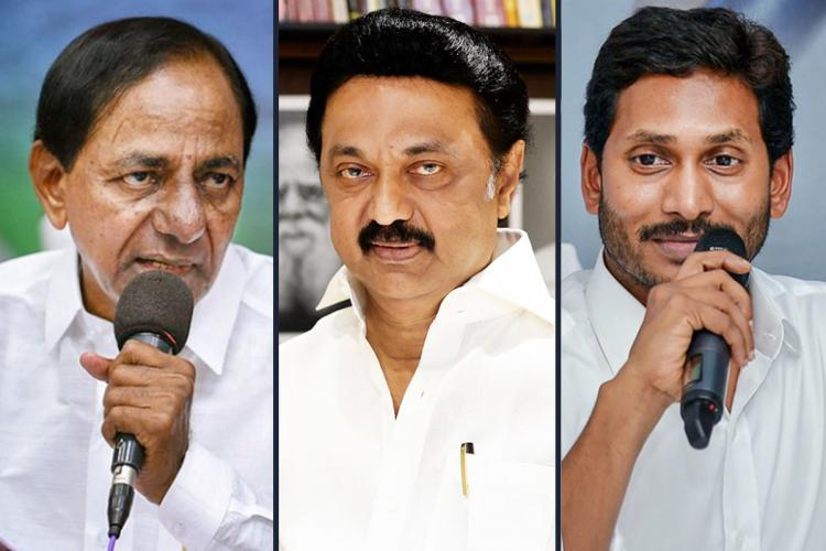 Chief Ministers KCR, MK Stalin, Jagan