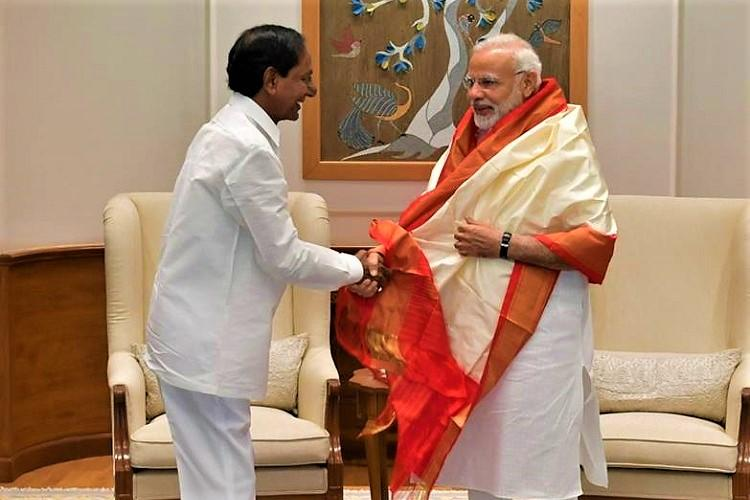 PM Modis appreciation of TRS leaves BJP unit in Telangana flummoxed