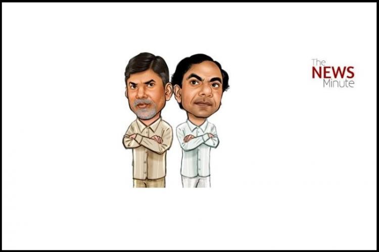 Andhra rulers destroyed Hyd Telangana CM KCRs snub at AP CM Naidu triggers row