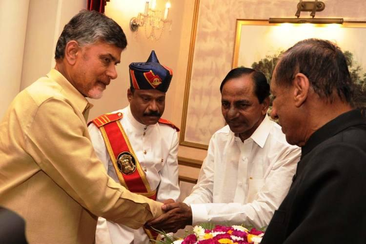 Telangana and Andhra sit down to talk it out hold first round of discussions post bifurcation