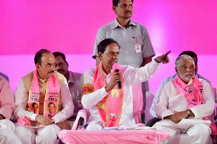 File cases against those who make baseless allegations Telangana CM KCR warns opposition