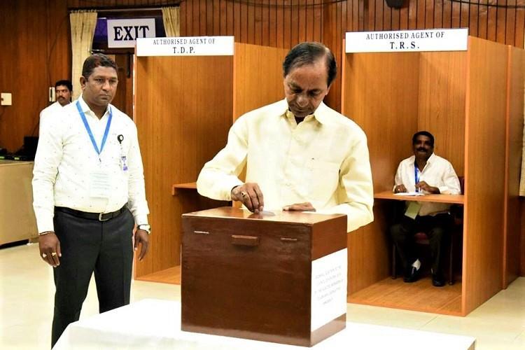With comfortable strength TRS wins all three Rajya Sabha seats in Telangana