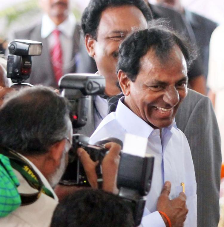 KCR approves design for new Telangana Kalabharati to come up at NTR stadium