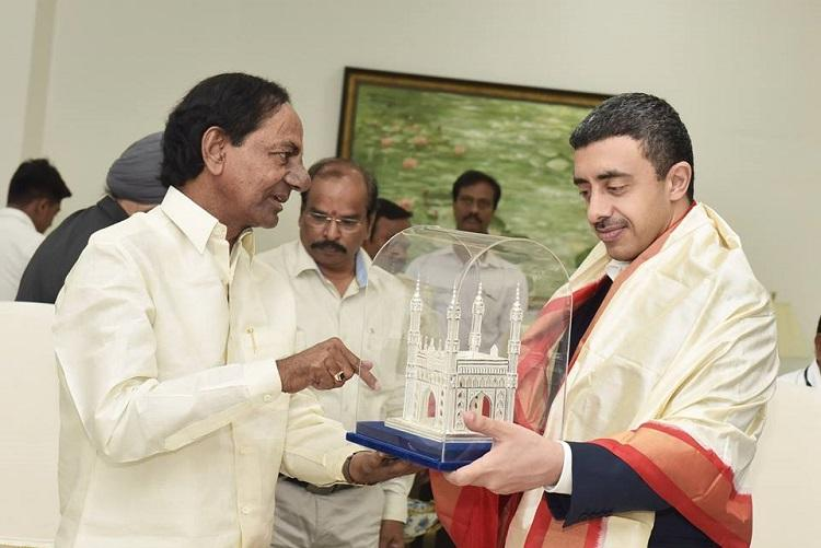 UAE proposes to set up consulate in Hyderabad after meet with Telangana CM KCR